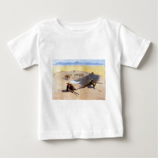 Fight for the Water Hole by Frederic Remington Shirt
