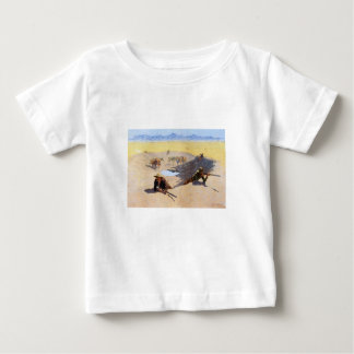 Fight for the Water Hole by Frederic Remington T-shirts