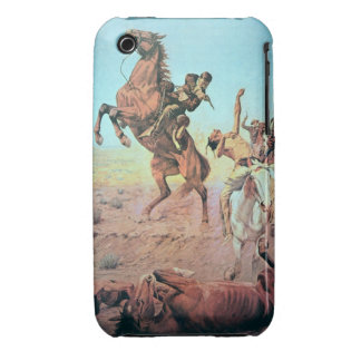 Fight for the Water Hole (colour litho) Case-Mate iPhone 3 Case