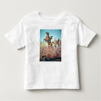 Fight for the Water Hole (colour litho) Toddler T-shirt