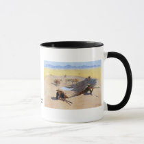 Fight for the Water Hole ~ Frederic Remington Mug
