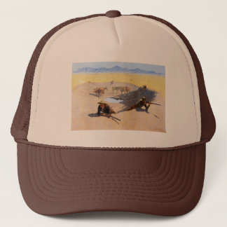 Fight for the Water Hole ~ Frederic Remington Trucker Hat