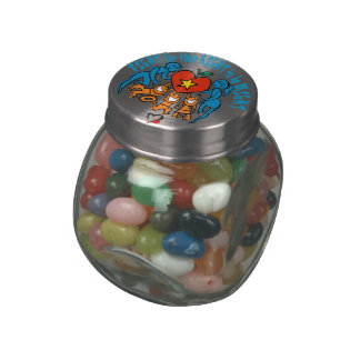 Fight For Their Right Jelly Belly Candy Jar