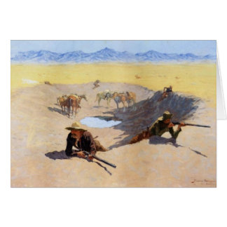 Fight for Water hole Card