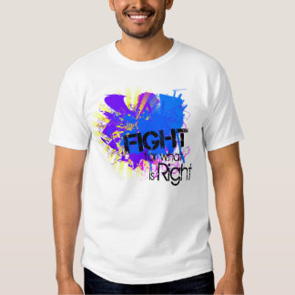 Fight for what is Right T Shirt