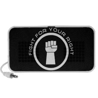 Fight For Your Right Laptop Speakers
