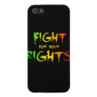 Fight for your rights cover for iPhone SE/5/5s