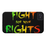 Fight for your rights iPhone 4 case