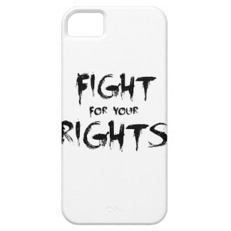Fight for your rights iPhone SE/5/5s case