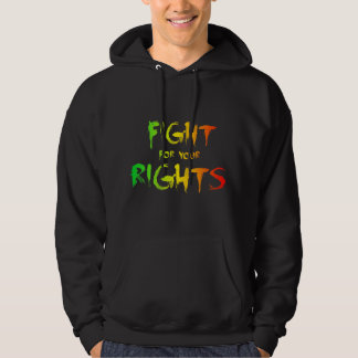 Fight for your rights jersey con capucha