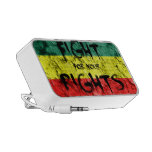 Fight for your rights notebook speaker