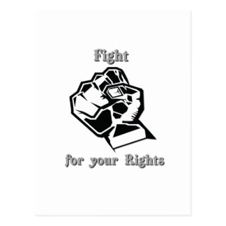 Fight for your Rights Postcards