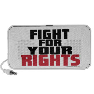Fight For Your RIghts Notebook Speakers