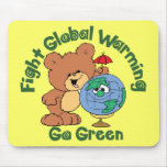 Fight Global Warming Mouse Pads