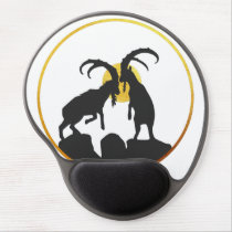 Fight Gold Mountain Goat Gel Mouse Pad