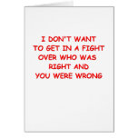 fight greeting cards