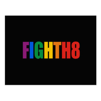 FIGHT H8 - png Postcard