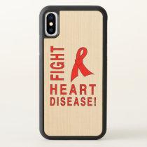 Fight Heart Disease iPhone X Case