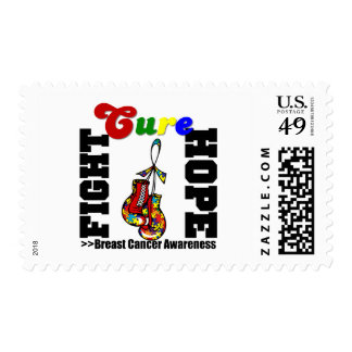 Fight Hope Cure - Autism Postage Stamp