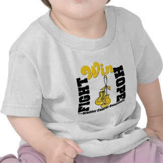 Fight Hope Win - Bladder Cancer T-shirt