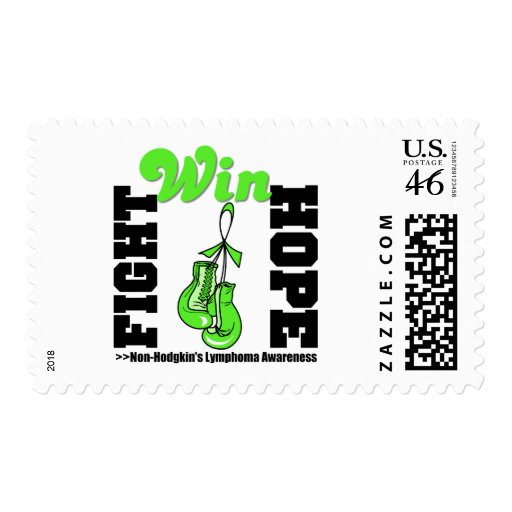 Fight Hope Win - Non-Hodgkin's Lymphoma Stamps