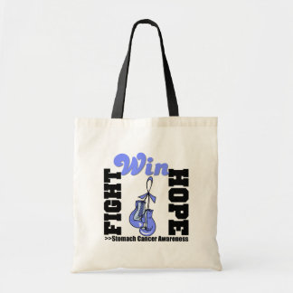 Fight Hope Win - Stomach Cancer Budget Tote Bag