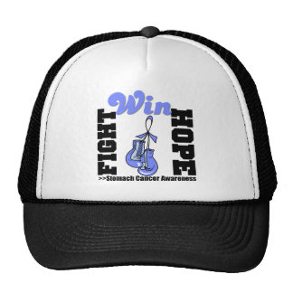 Fight Hope Win - Stomach Cancer Trucker Hat