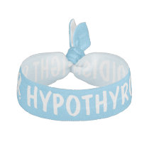Fight Hypothyroidism Hair Tie