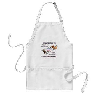 FIGHT INEQUALITY IN AMERICA PRODUCTS ADULT APRON