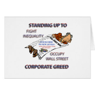 FIGHT INEQUALITY IN AMERICA PRODUCTS GREETING CARDS