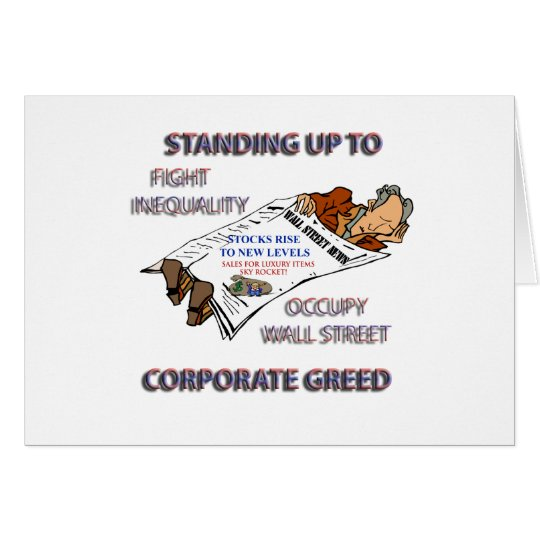 FIGHT INEQUALITY IN AMERICA PRODUCTS CARD
