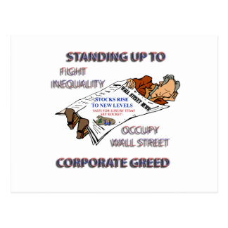 FIGHT INEQUALITY IN AMERICA PRODUCTS POST CARDS