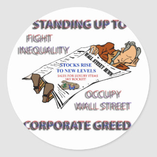 FIGHT INEQUALITY IN AMERICA PRODUCTS STICKERS