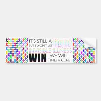Fight Invisible Illness Bumper Sticker
