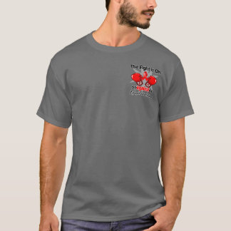 Fight is On Against Myeloproliferative Neoplasms T-Shirt