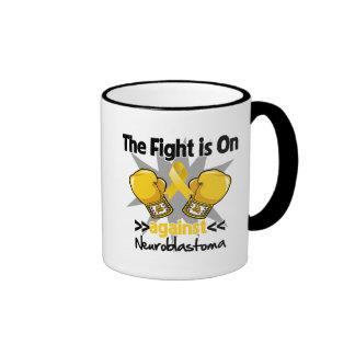 Fight is On Against Neuroblastoma Coffee Mug