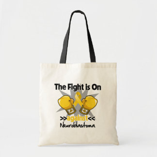 Fight is On Against Neuroblastoma Tote Bag