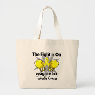 Fight is On Against Testicular Cancer Bag