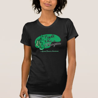 Fight Like a Champion Liver Cancer T-Shirt