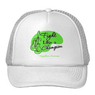 Fight Like a Champion Lymphoma Mesh Hat