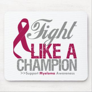 Fight Like a Champion Myeloma Mousepads
