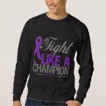 Fight Like a Champion - Pancreatic Cancer Sweatshirt