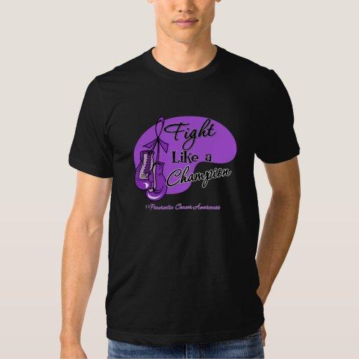 Fight Like a Champion Pancreatic Cancer T-shirts