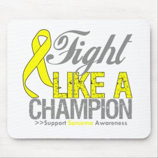 Fight Like a Champion Sarcoma Mousepad