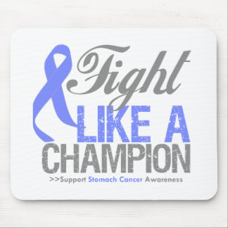 Fight Like a Champion Stomach Cancer Mouse Pad