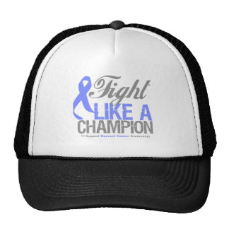 Fight Like a Champion Stomach Cancer Trucker Hat