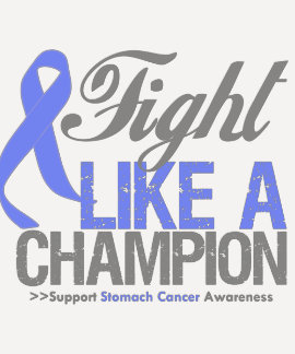 Fight Like a Champion Stomach Cancer Tshirts