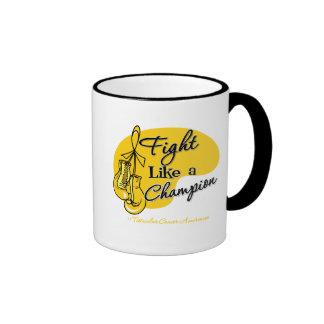 Fight Like a Champion Testicular Cancer Mug