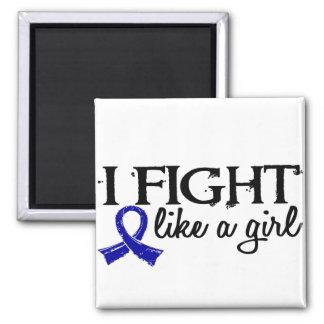 Fight Like A Girl 18.7 Rheumatoid Arthritis Magnet