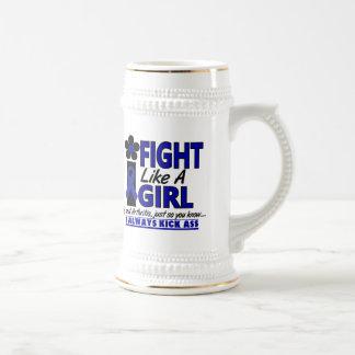 Fight Like A Girl 1.2 Arthritis 18 Oz Beer Stein